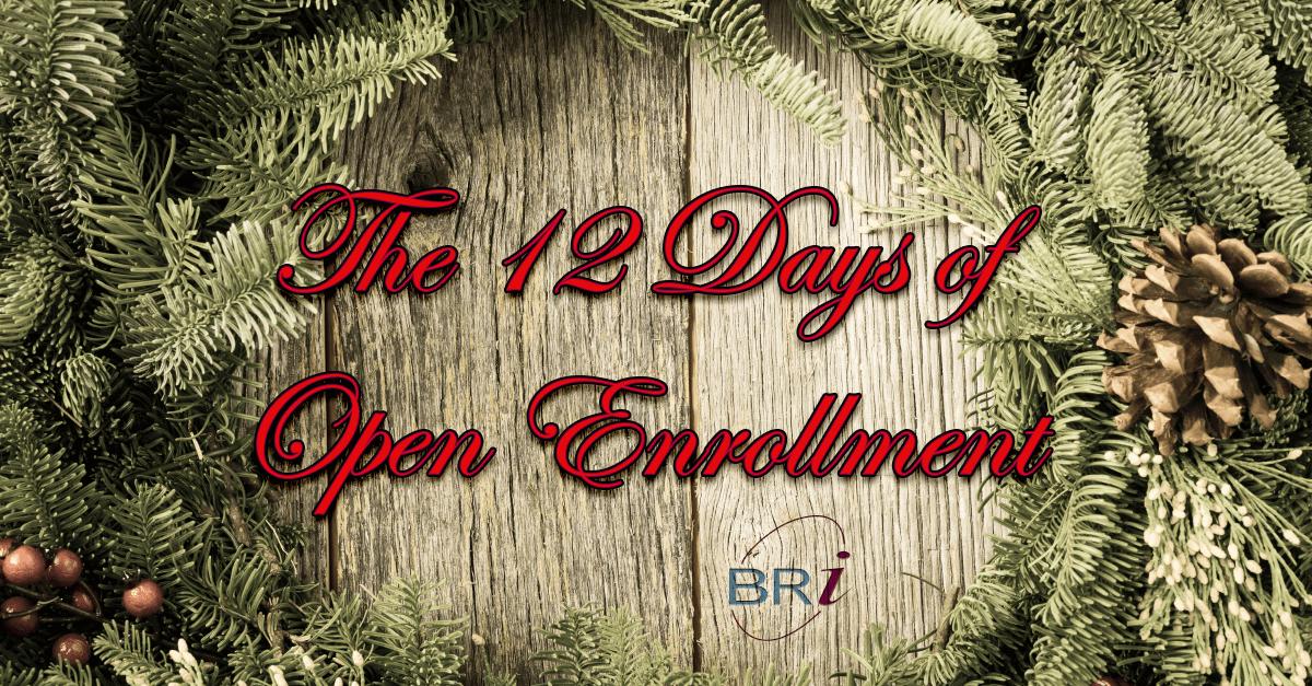12 days of open enrollment
