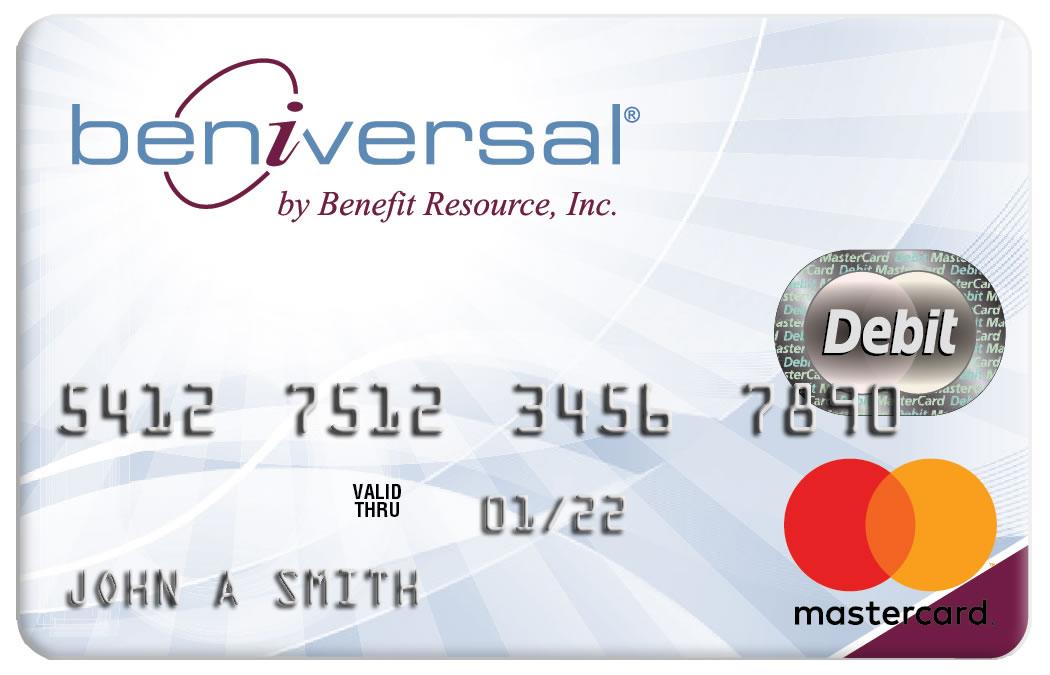 Beniversal Prepaid Mastercard