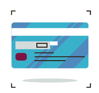 benefits card icon avoid receipt requests