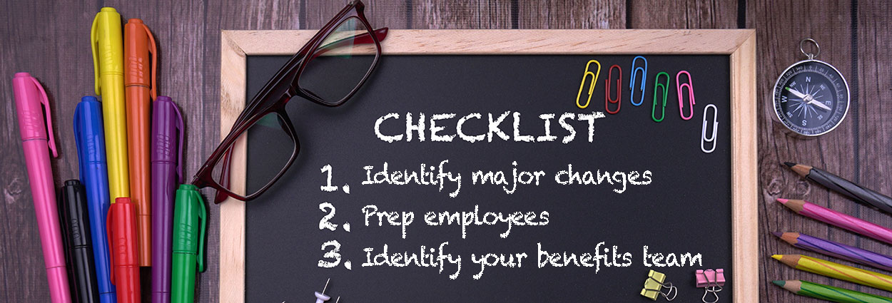 Benefits Planning Checklist - 3 steps