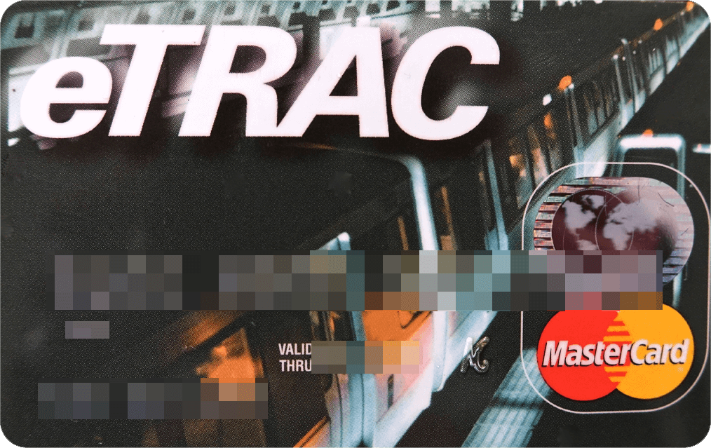 First eTRAC Card