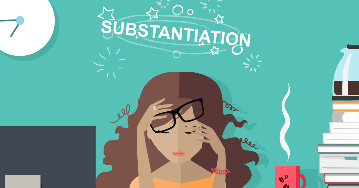 what is substantiation