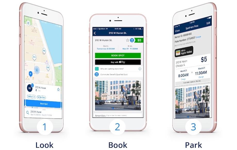 SpotHero Simplifies Pre-tax Parking
