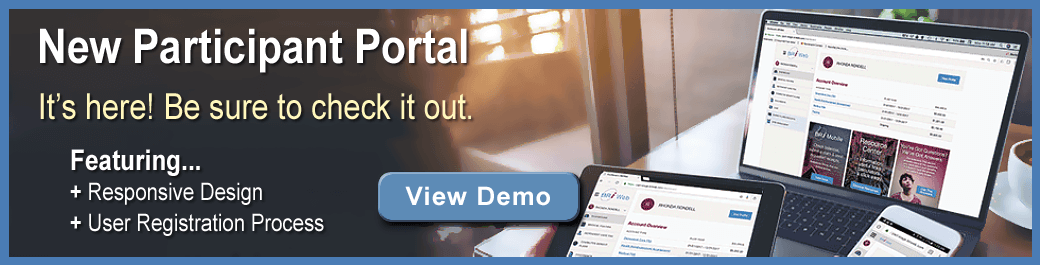 New BRiWeb Participant Portal