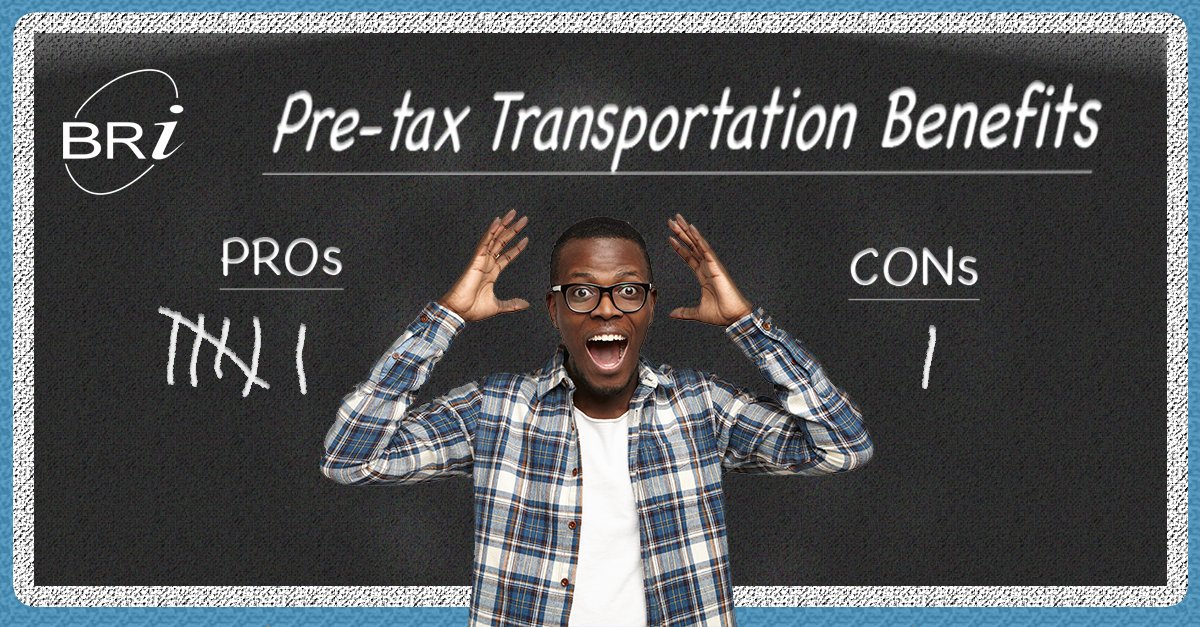 Why Pre-Tax Transit Benefits?