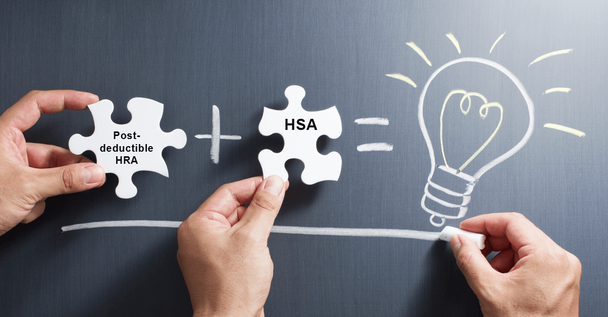 A winning combination– An HSA and Post-deductible HRA (PART TWO)
