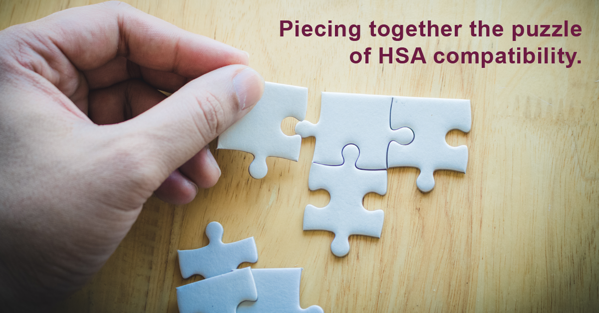 HSAs and Pre-tax Benefits: What is HSA-compatible? (PART ONE)