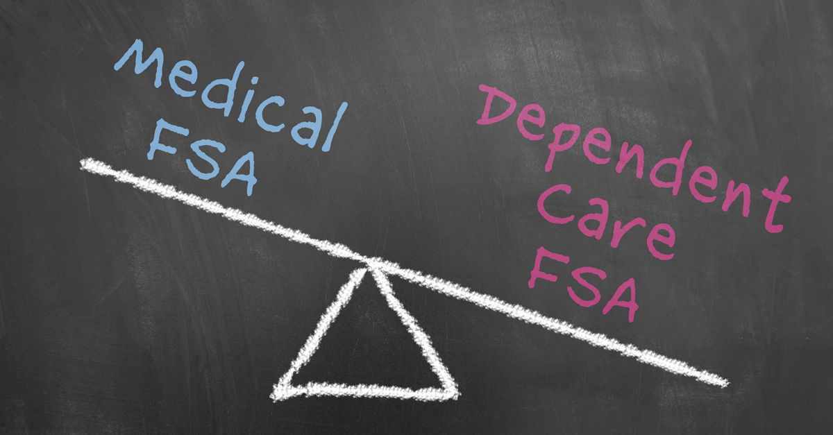 Compare: Medical FSA and Dependent Care FSA