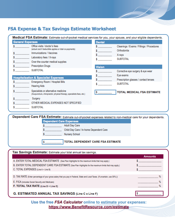 finding the sweet spot for your fsa election benefit resource inc