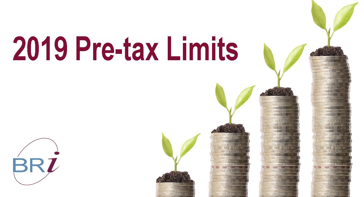 2019 pre-tax limits