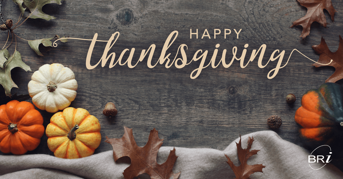 Happy Thanksgiving from Benefit Resource