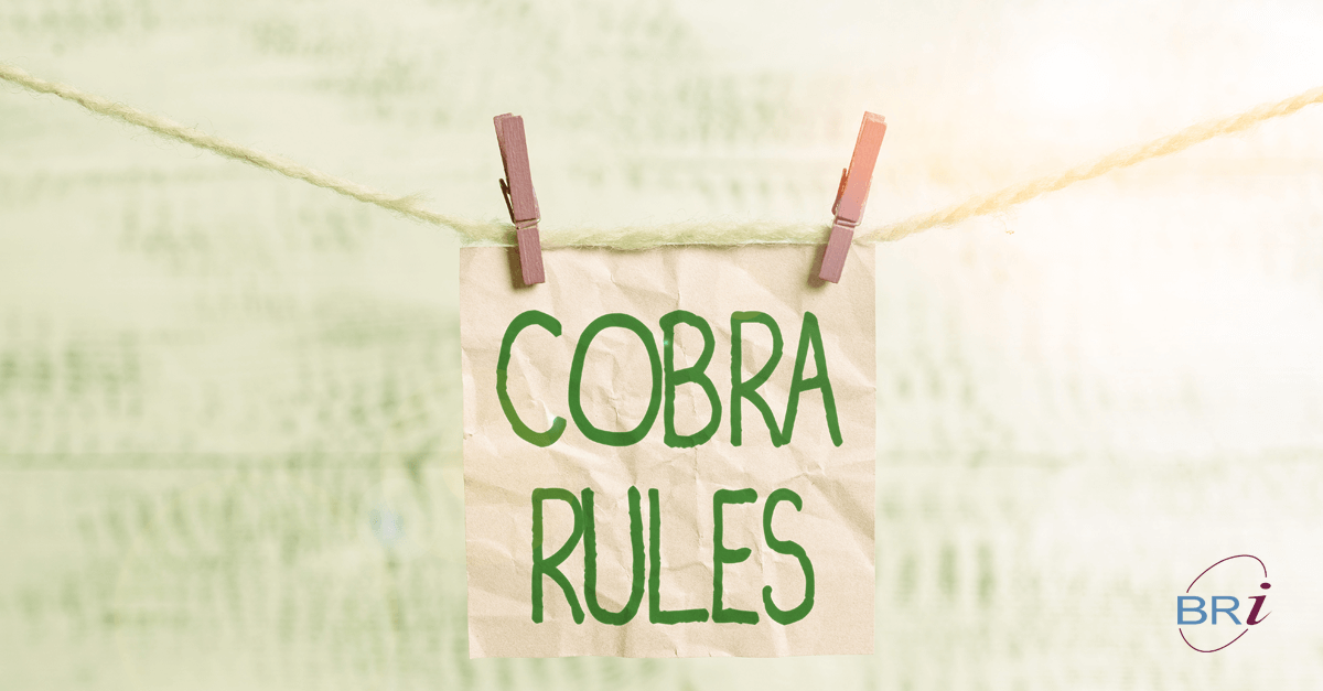Plan to offer COBRA? Use these five questions