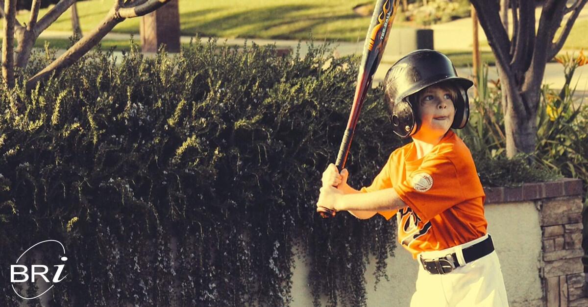child care kid baseball