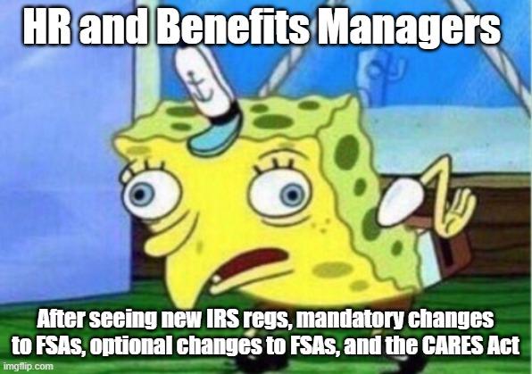 covid-19 memes hr managers stressed spongebob