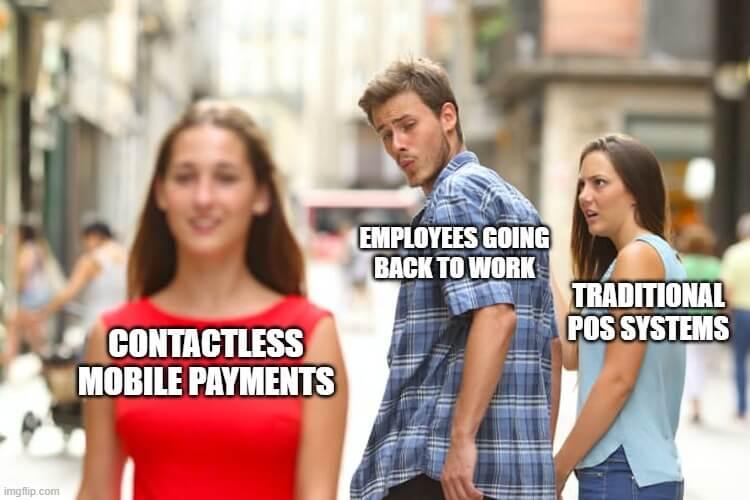 covid-19 memes digital wallets