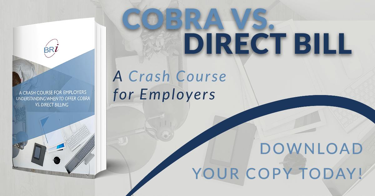 crash course for employers cobra direct billing