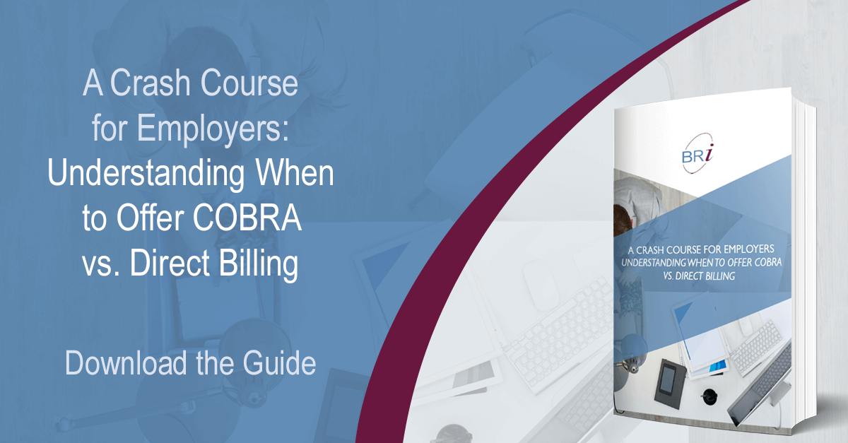 crash course for employers on cobra cover photo