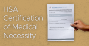 HSA Medical Necessity Directive Form