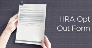 HRA Opt Out Form