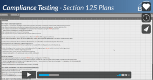 Section 125 Compliance Testing