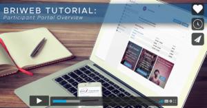 BRiWeb Participant Portal Overview