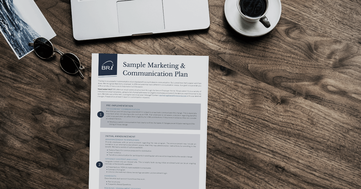 [Flyer] Sample Marketing & Communication Plan