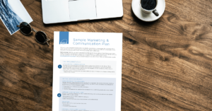 Sample Marketing & Communication Plan