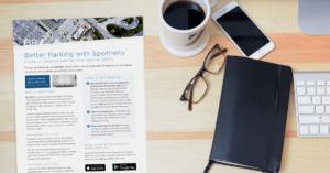 Spothero flyer
