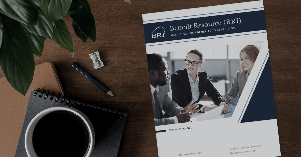 [Flyer] Benefit Resource (BRI) Company Overview