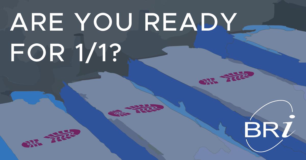 prepare for 1/1 effective date
