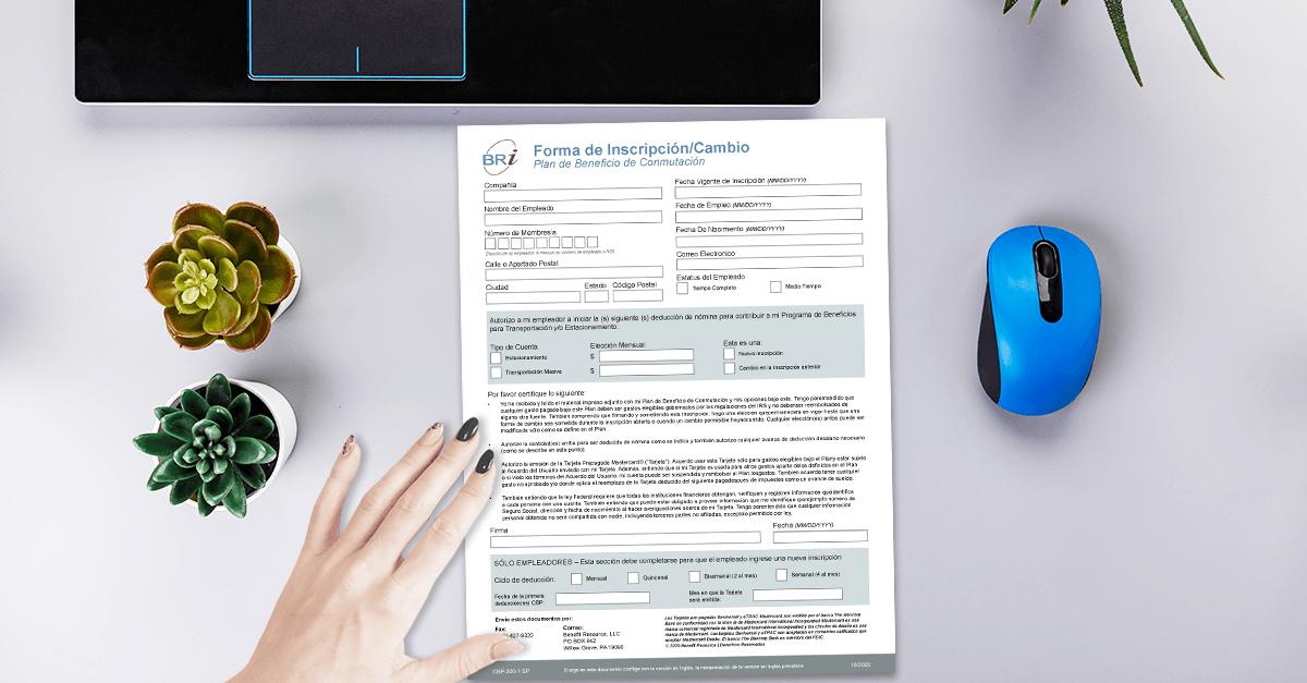 [Form-Spanish] Commuter Enrollment/Change Form
