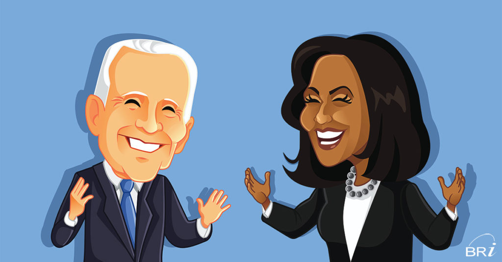 Democrat Controlled Government with President-elect Biden and Vice-President elect Harris