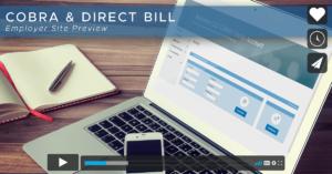 cobra direct bill portal video