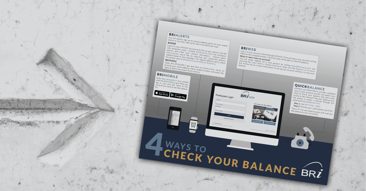 [Infographic] 4 Ways to Check Your Balance