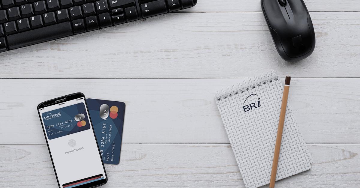 Employee benefits card evaluation
