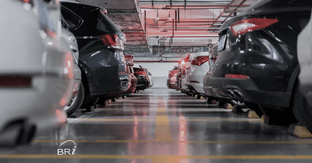 Employees returning to work parking commute option