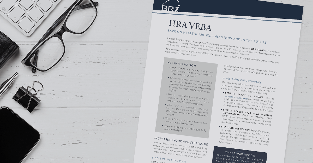 [Flyer] HRA VEBA Summary