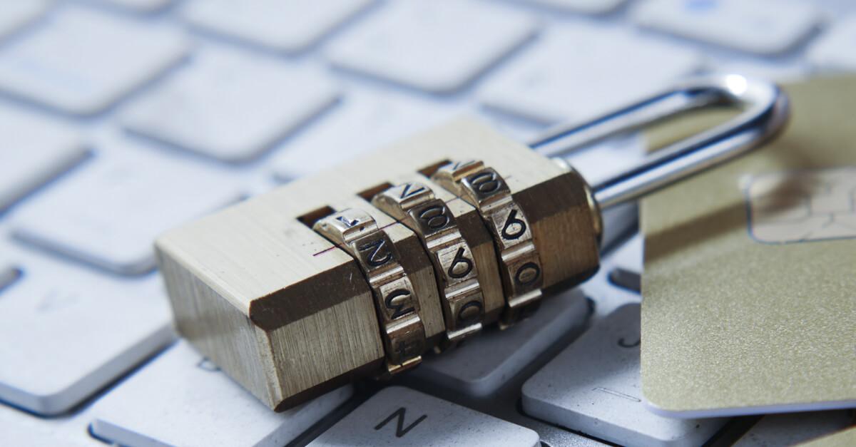 lock on a keyboard